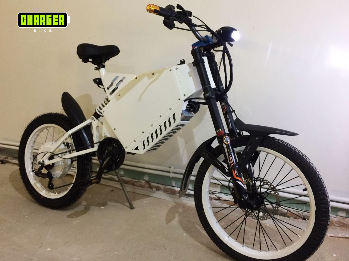 Charger custom e-bike 8000w
