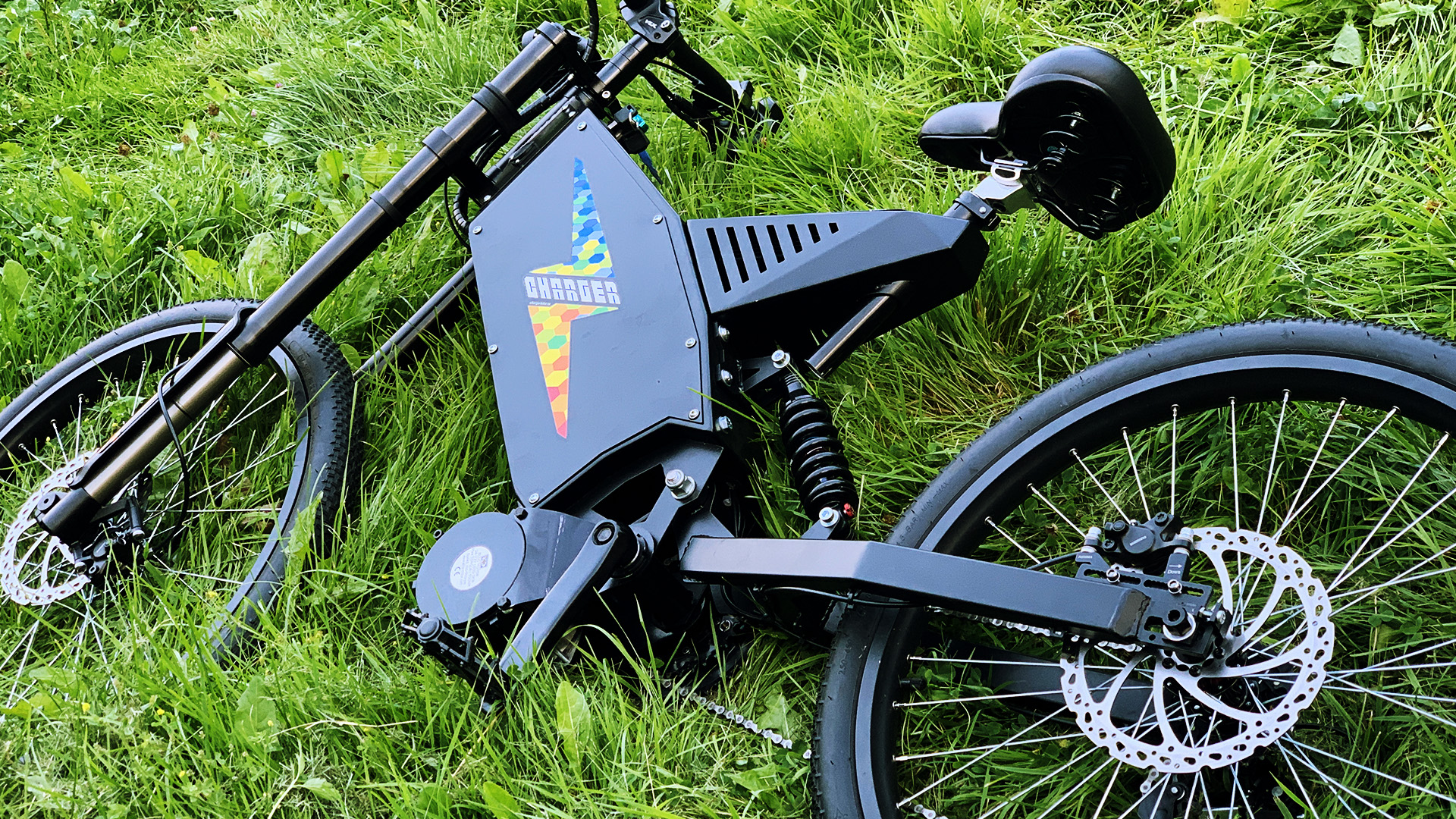 Charger mid drive electric bike