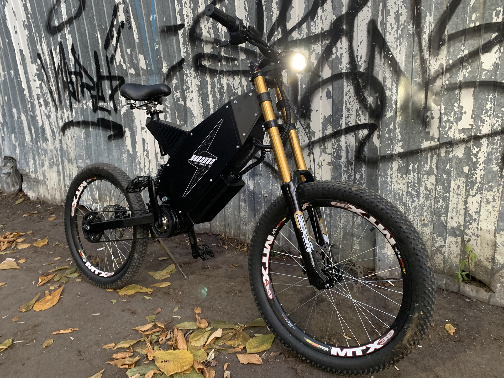Charger belt mid drive electric bike