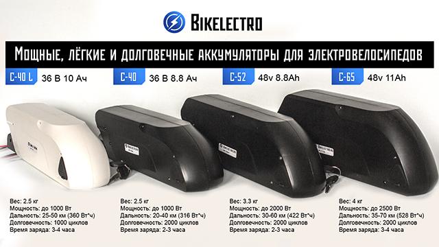 Аккумуляторы для электровелосипеда: купить литиевые (<b>li</b>-<b>ion</b> ...