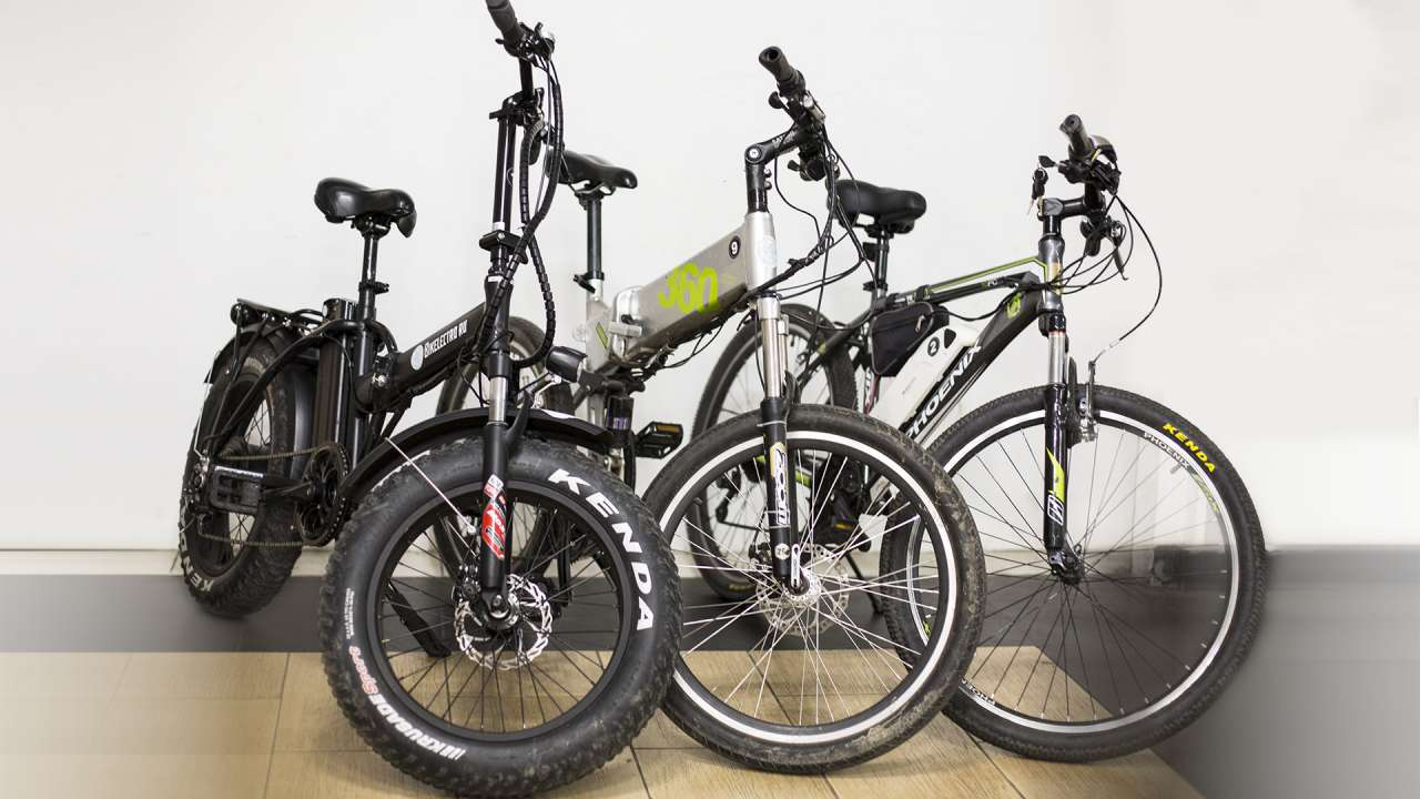 Electric bicycle (ebike) rent