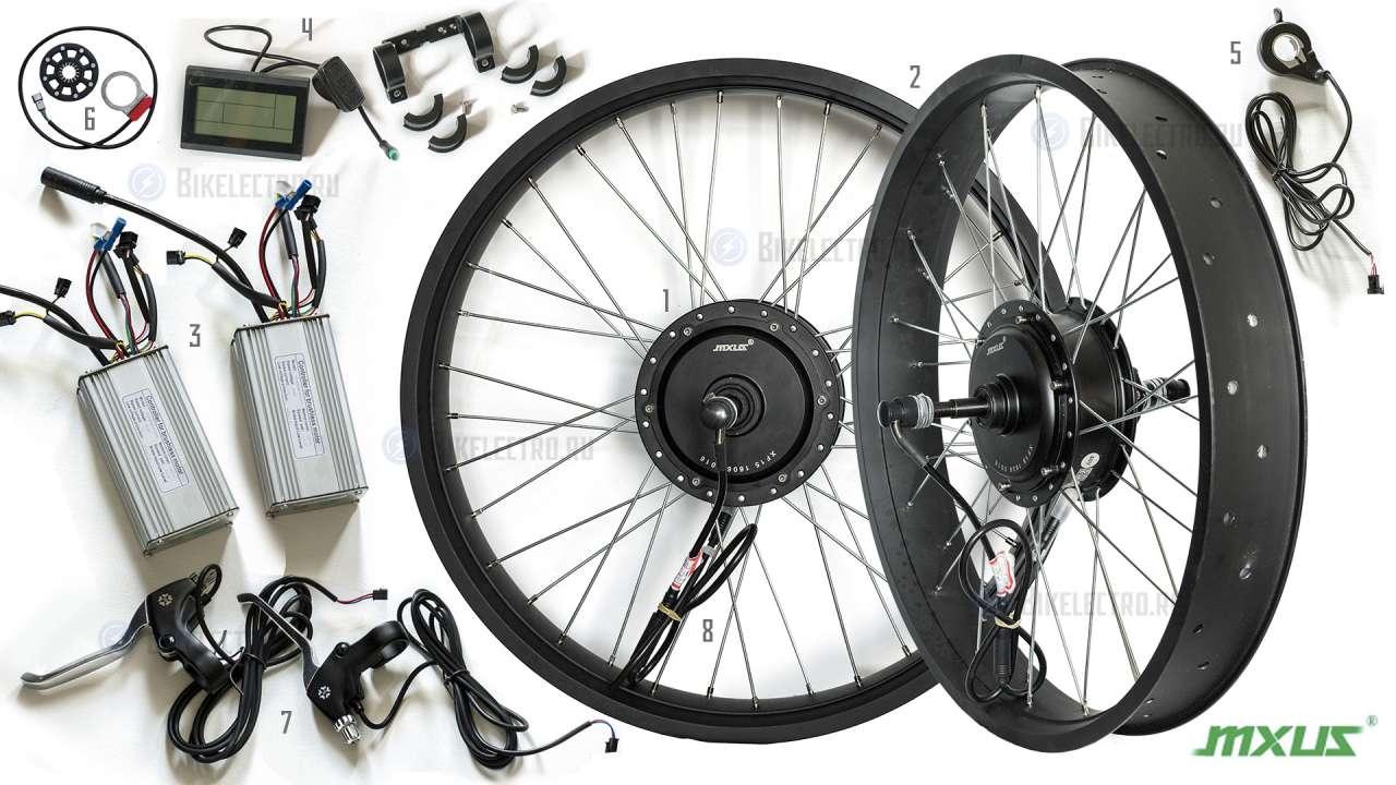 Электровелосипед схема подключения